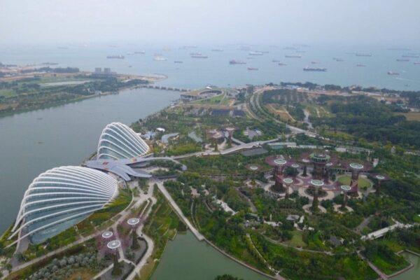 Marina Bay Sands Top View Photo by Nomadasaurus