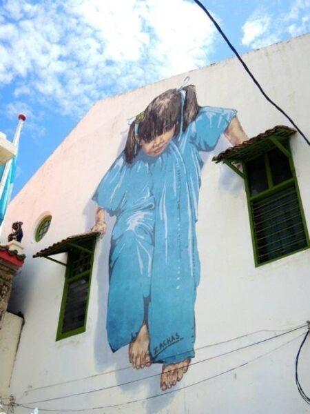 Penang Georgetown Mural Photo by Vivian aka Miss Happyfeet