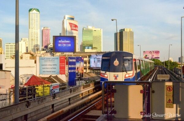 Thailand Bangkok Sky Train