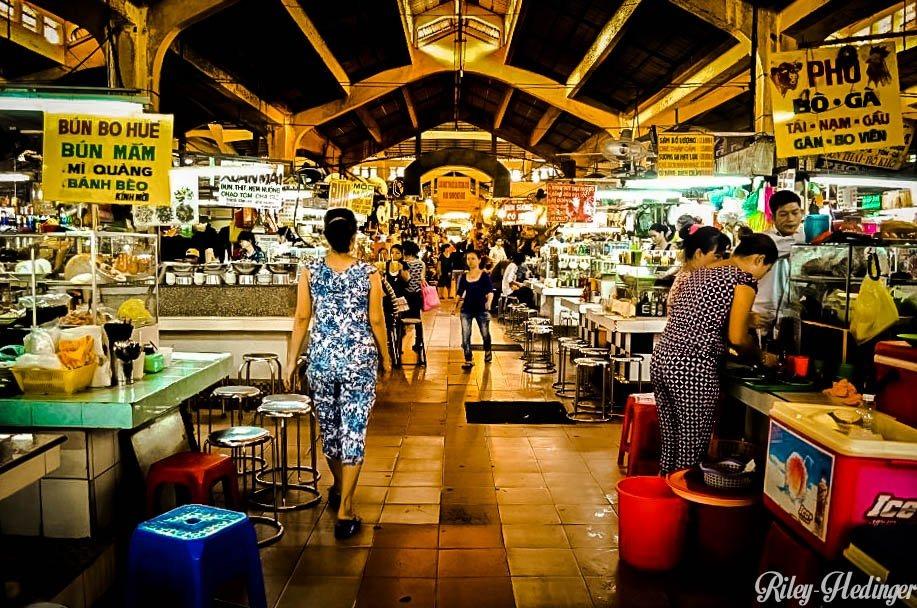 Vietnam Ben Thanh Market