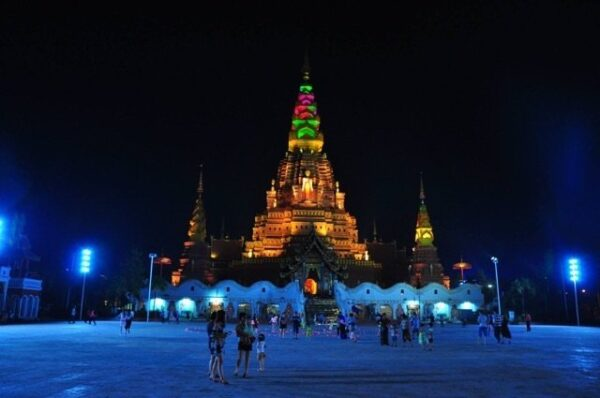 Xishuangbanna Dai Autonomous Province Night Photo by LindaGoesEast.com