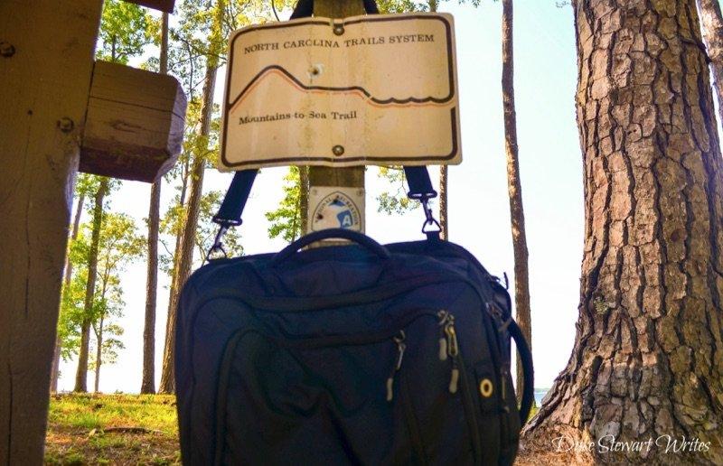 Croatan National Forest Pine Cliffs Entrance