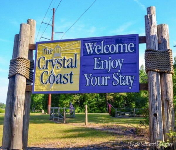Crystal Coast Sign