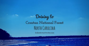 Driving to Croatan National Forest North Carolina by Duke Stewart