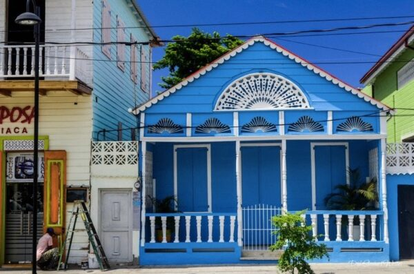 Colorful Puerto Plata Houses