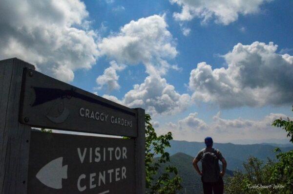 Craggy Gardens Visitors Center Overlook