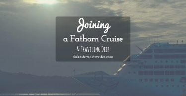 Joining a Fathom Cruise and Traveling Deep