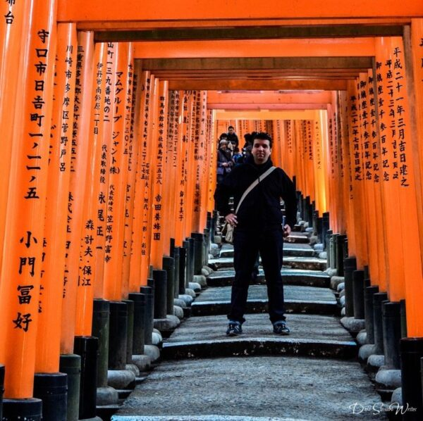 Duke Stewart and Fushimi Inari Toori Gates