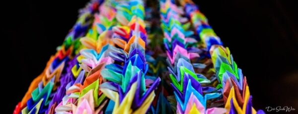 Kyoto Fushimi Inari Paper Cranes Up Close