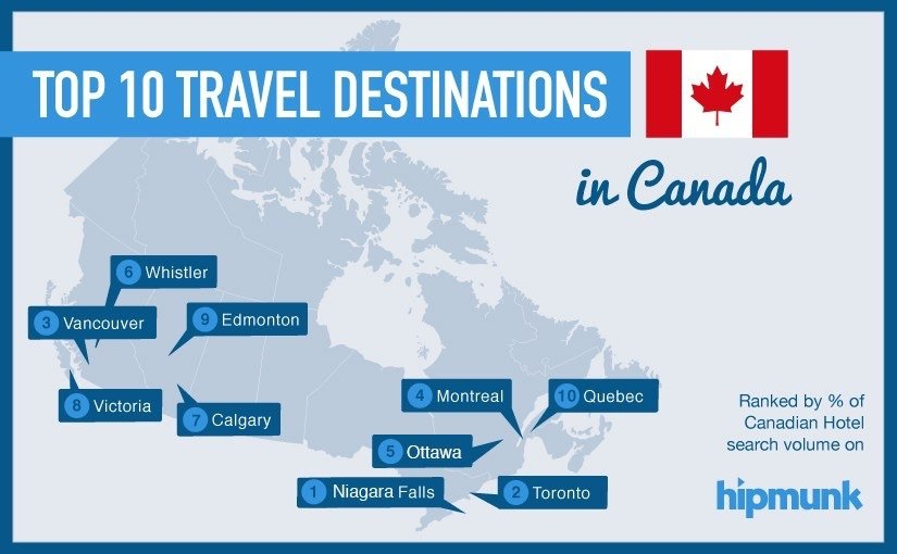 Top 10 travel destinations in canada travel through life for Best travel locations in the us