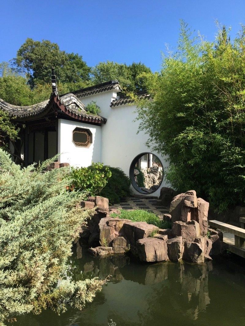 Chinese Scholars Garden New York City