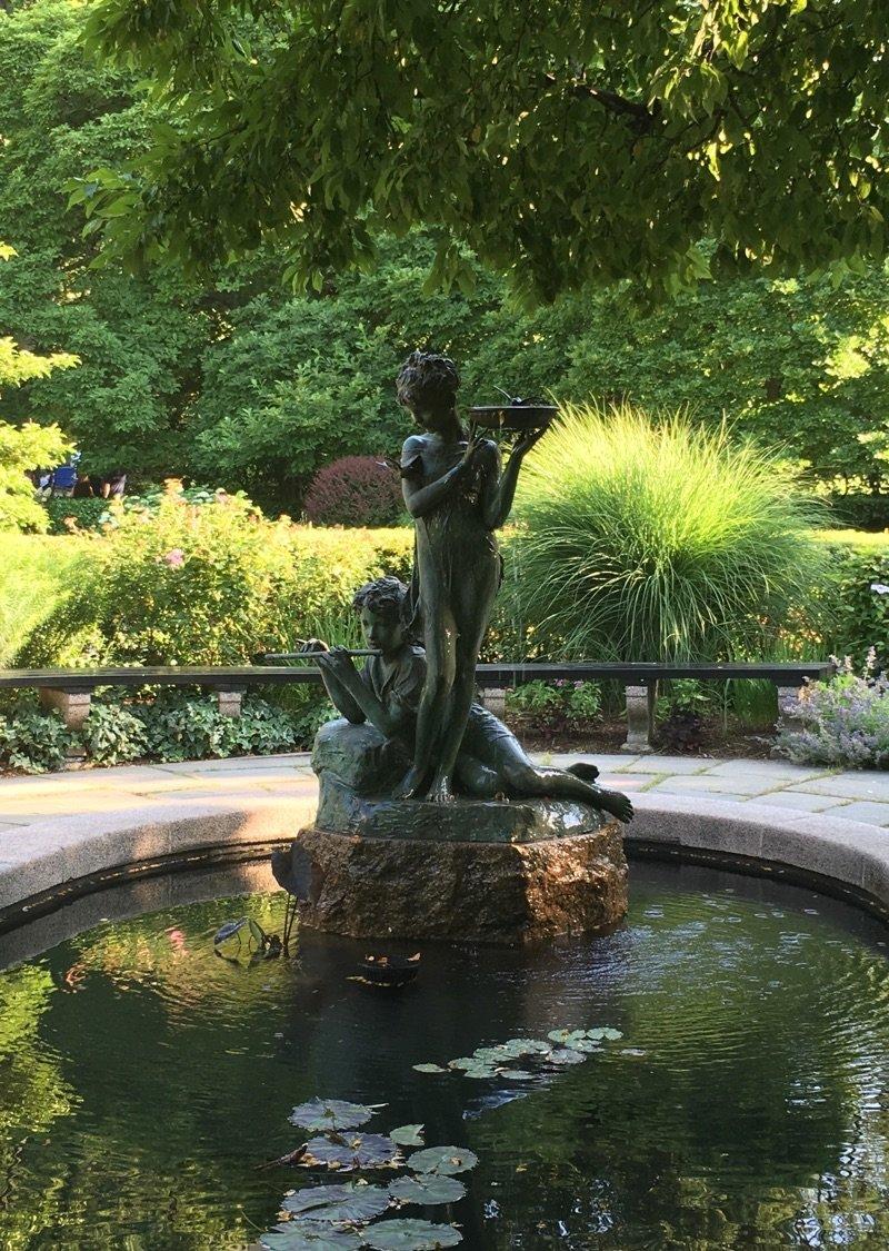 New York City Central Park Conservatory Gardens