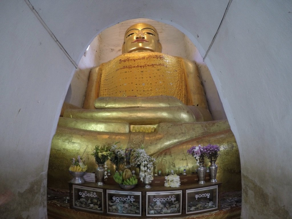 Bagan-Manuha-Buddha