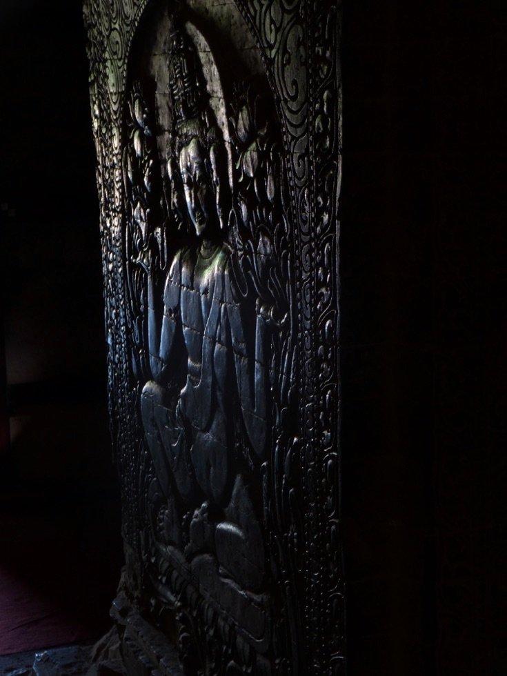 Bagan-Myanmar-Nanpaya-Carving