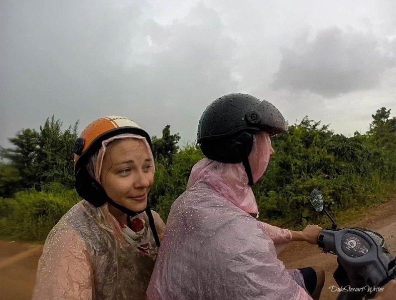 kampot-motorbike-in-the-rain