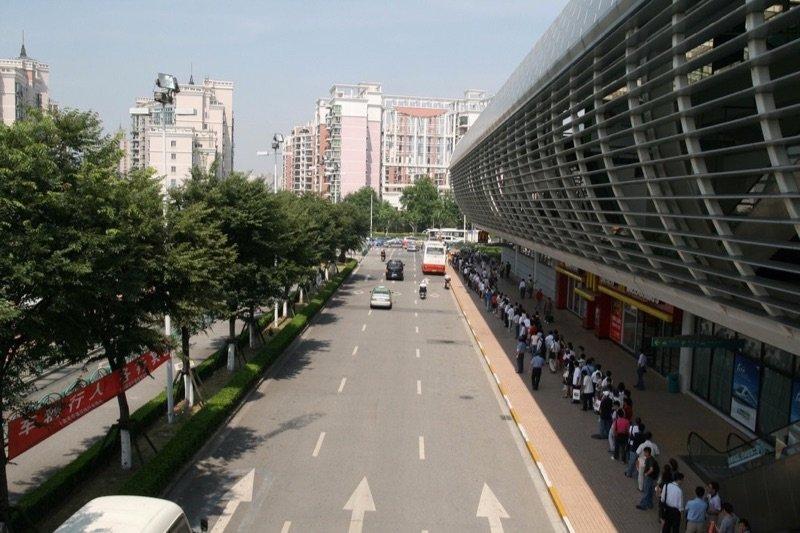 China Bus Line Photo via Flickr by Bernt Rostad