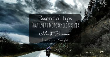 Essential Motorcycle tips by Laura Knight