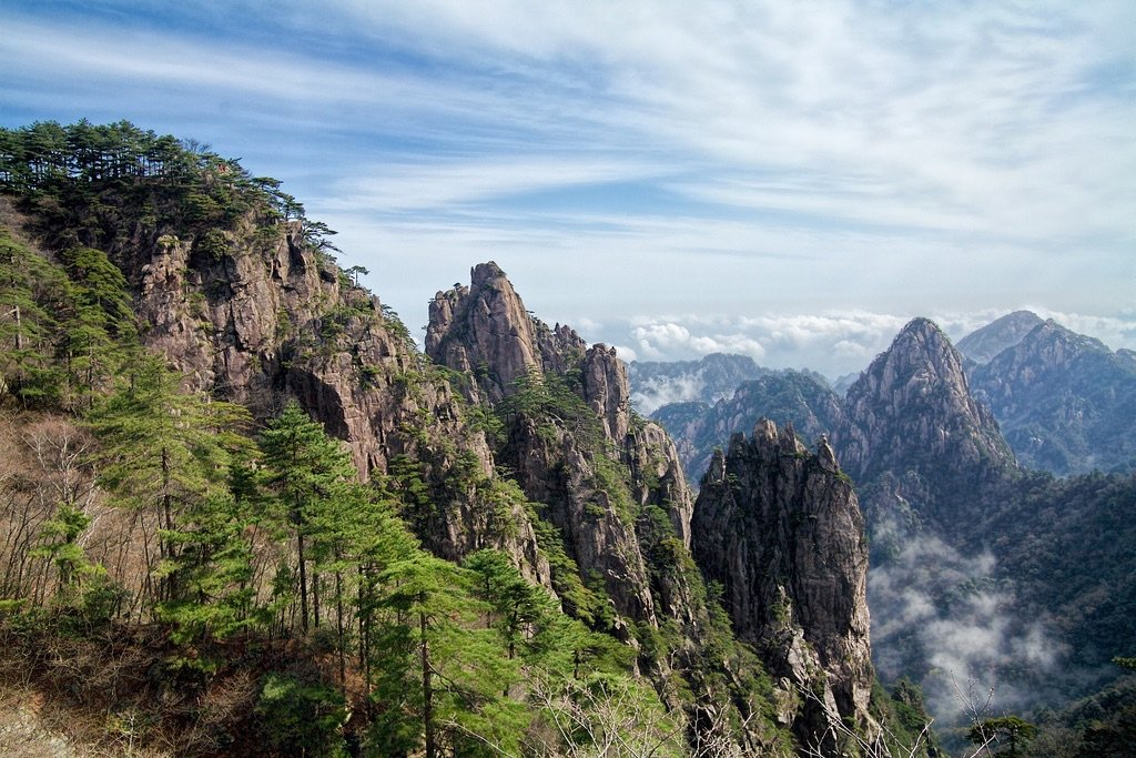 Huangshan China Photo via Flickr by Chi King