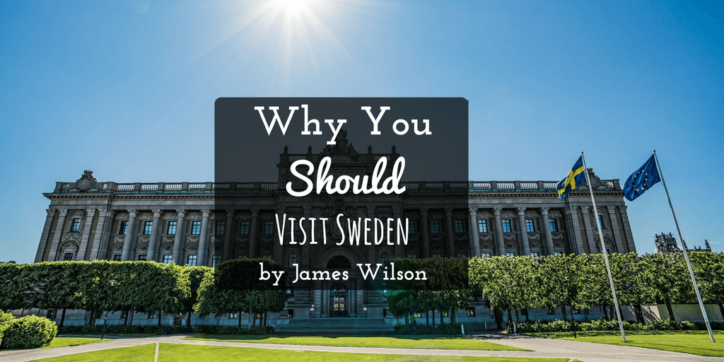 Visit Sweden by James Wilson