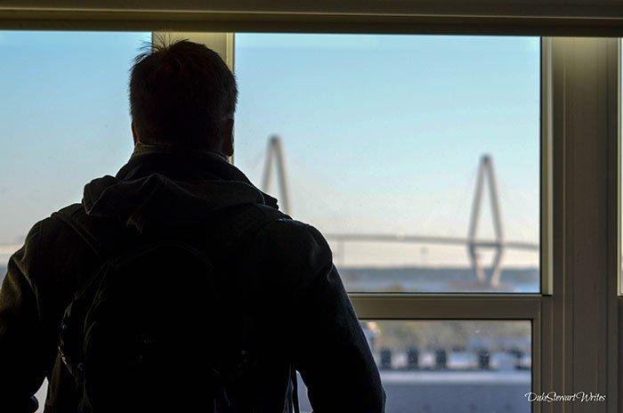 Charleston South Carolina Arthur Ravenel Bridge View