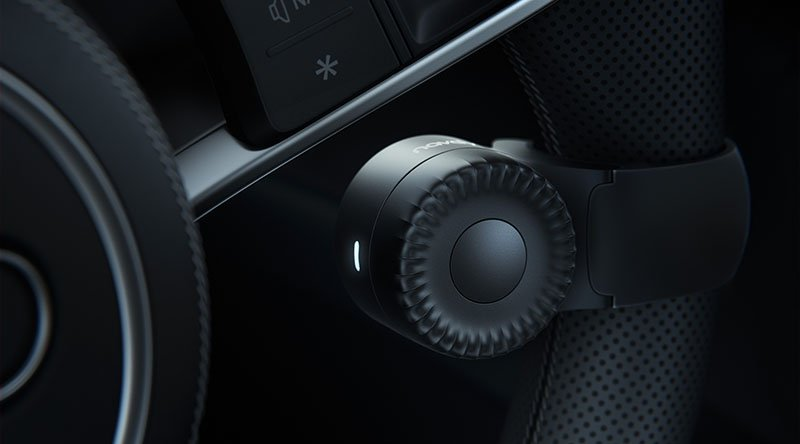 Navdy Steering Wheel Dial