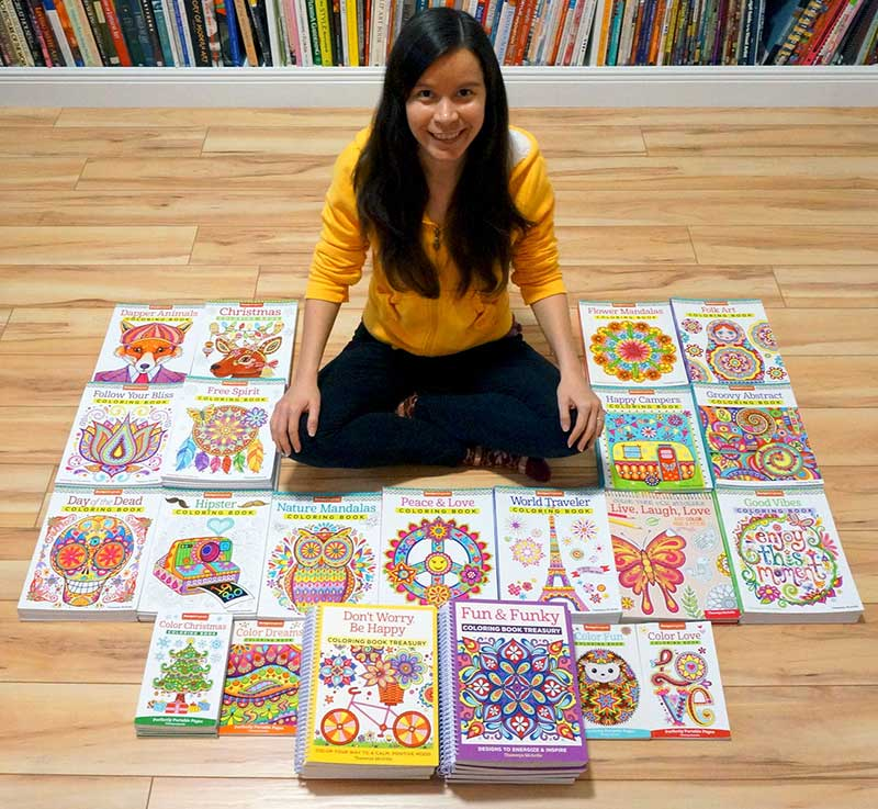 Thaneeya McArdle Coloring Books