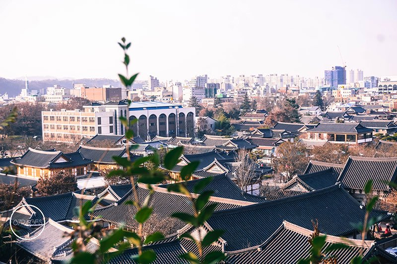 Fall in South Korea Jeonju