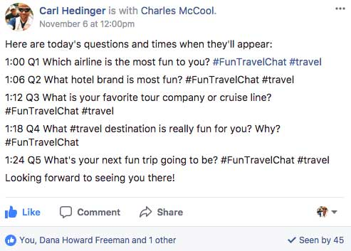 #FunTravelChat Questions Preview Image