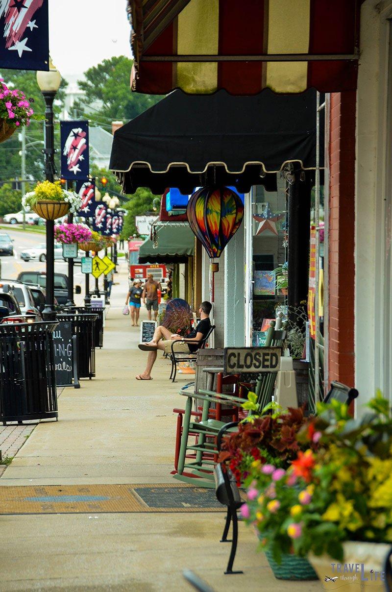 Historic Downtown Apex North Carolina