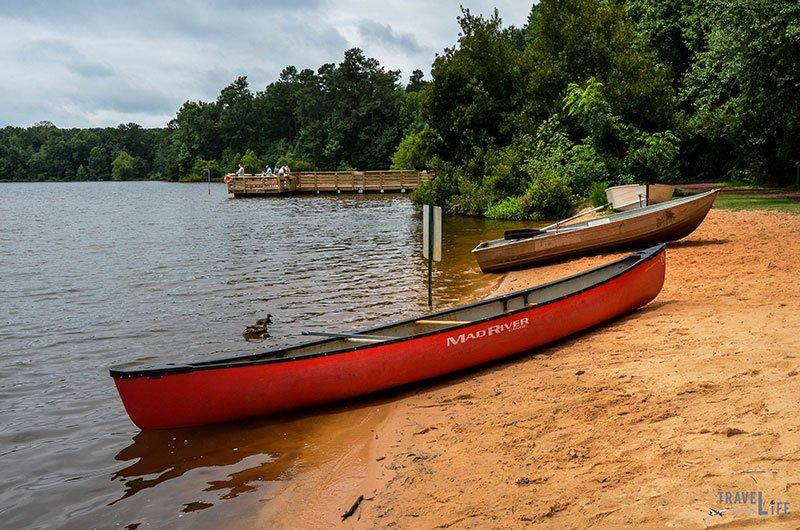 Holly Springs North Carolina Bass Lake Park
