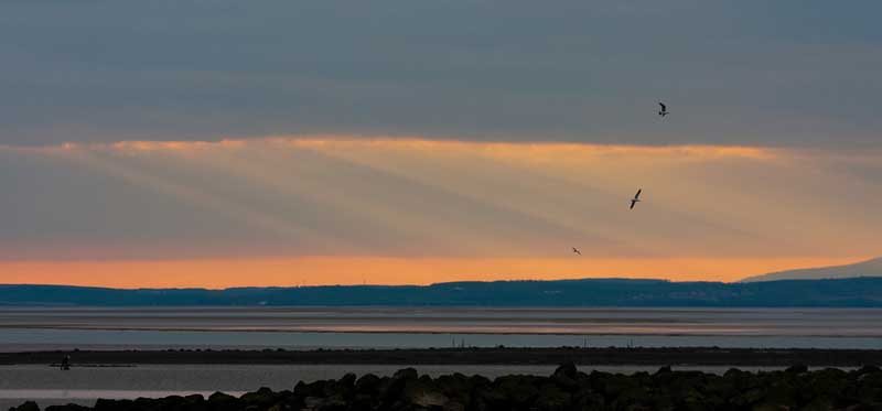Morecambe Bay Image by Christian Cable via Flickr CC