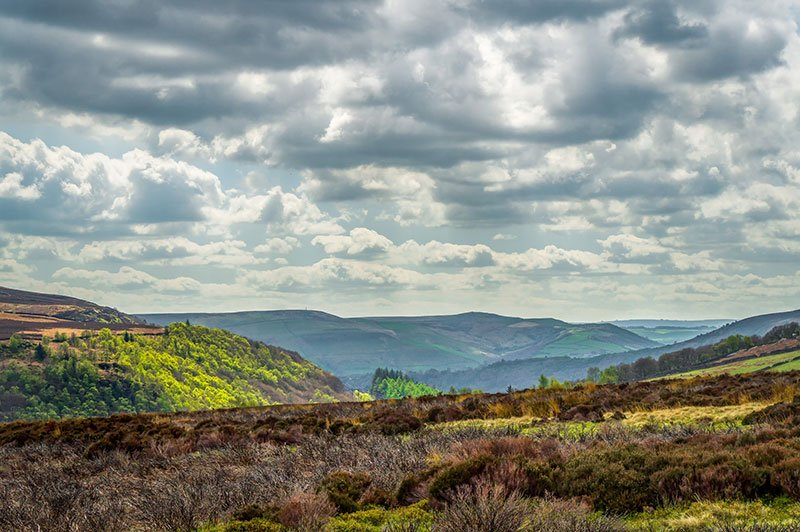 Image of Peak District by Adam Clarke via Flickr Creative Commons Non-Commercial