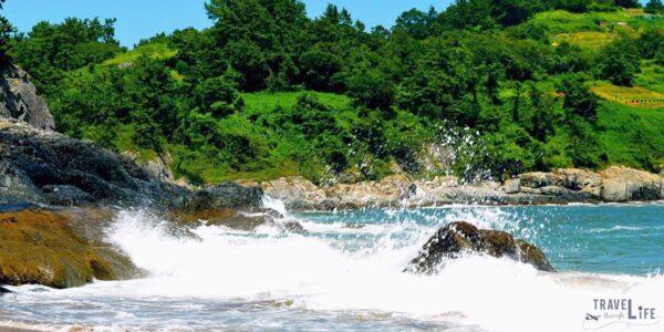 Sindeok Beach in Yeosu South Korea Travel Guide