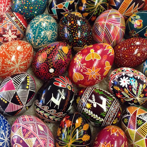 Andrea Kulish Pysanky Eggs