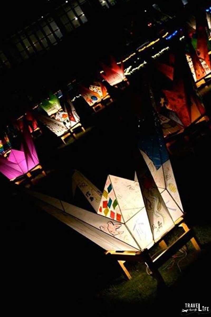 Hiroshima Peace Memorial Museum Sadako Cranes