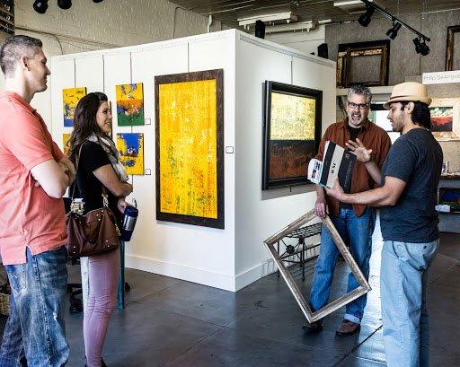 John Almaguer Asheville Art Studios Tour