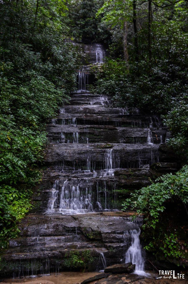 Key Falls in North Carolina