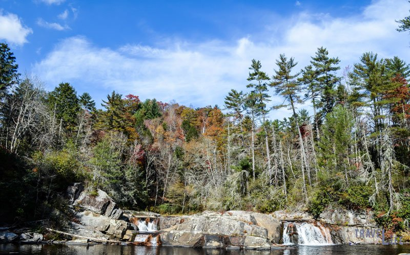 Linville Fall Foilage Photo by Travel Through Life