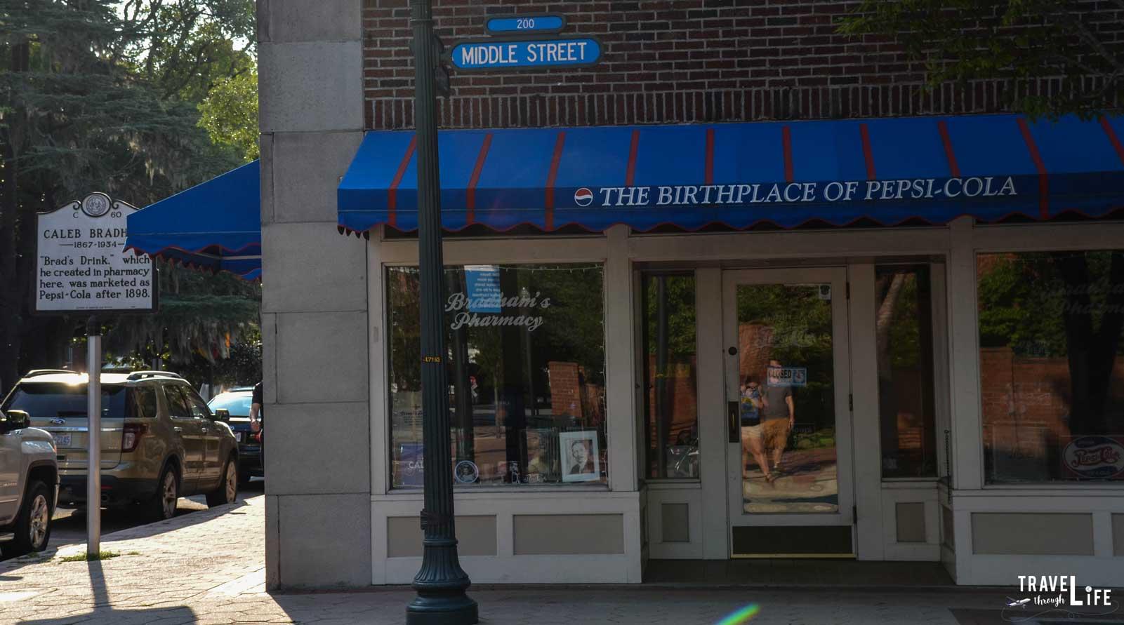 New Bern North Carolina Birthplace of Pepsi