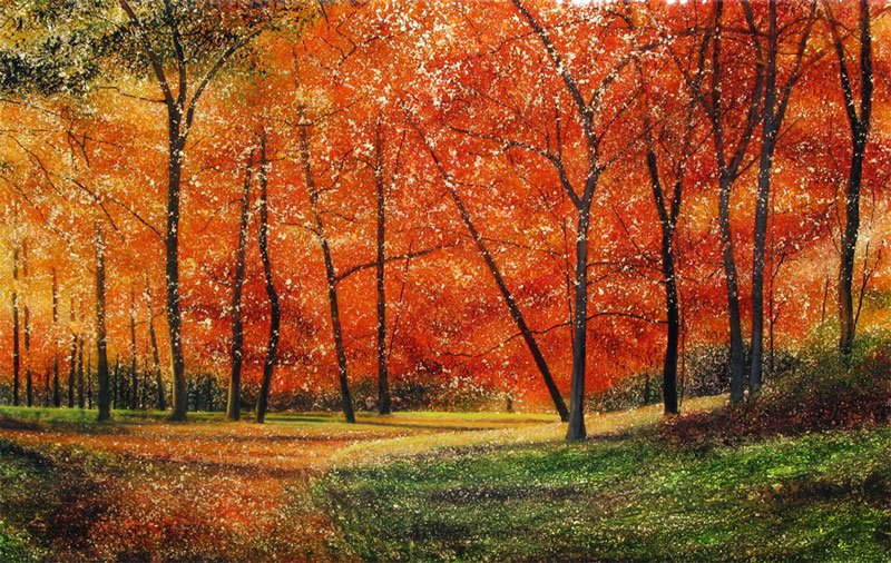 Stephen St Claire A Walk Through Autumn Woods