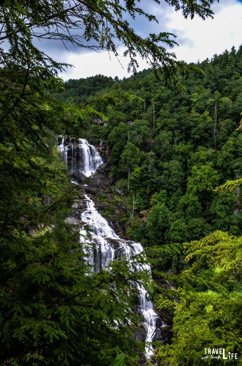 Upper Whitewater Falls in North Carolina