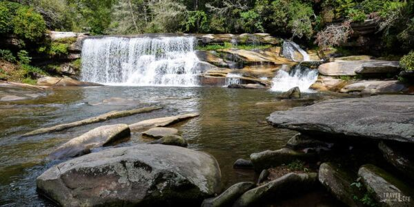 Waterfalls near Brevard NC Travel Guide Featured Image