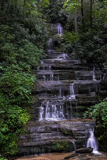Waterfalls near Brevard NC Travel Guide Key Falls Image