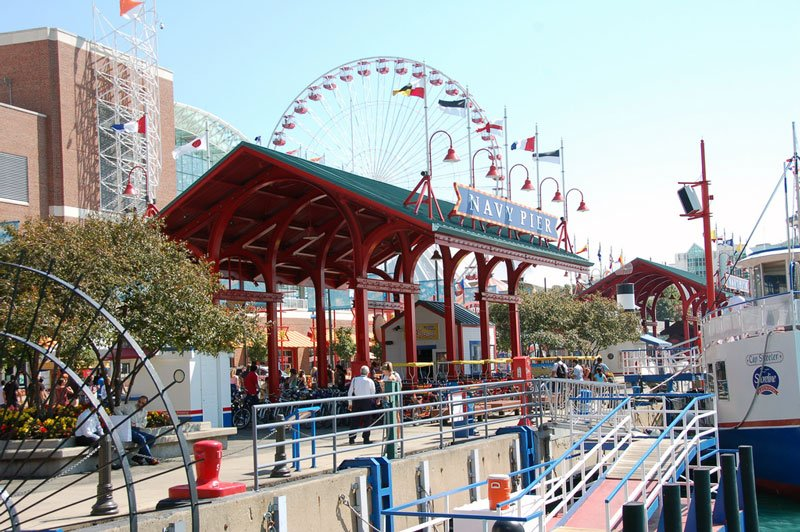 Chicago Attractions Navy Pier Photo by Flickr User Jeff Dell