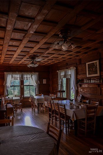 Hotels in Brevard NC Pines Country Inn Dining Room Image