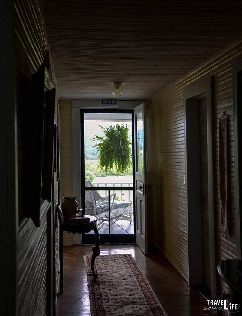 The Pines Country Inn First Floor Hallway