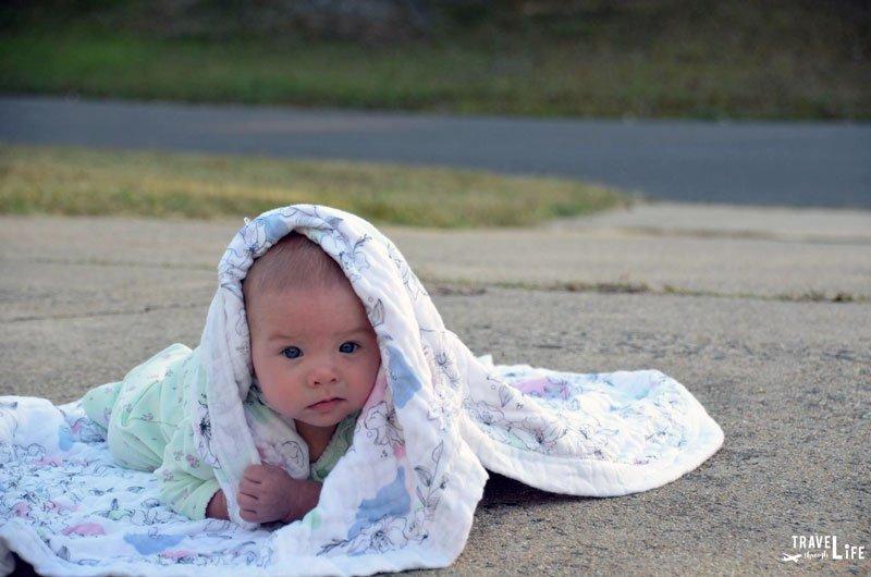 Baby Not Sleeping on a Blanket