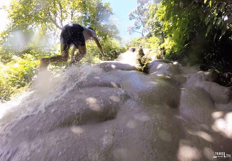 Chiang Mai Northern Thailand Bua Thong Sticky Waterfalls