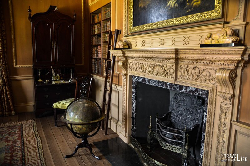 Inside Tryon Palace in New Bern NC