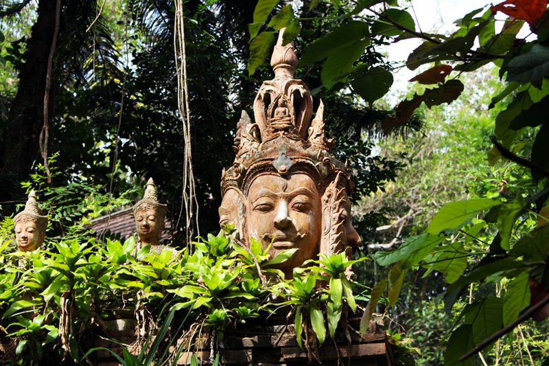 Northern Thailand Wat Pha Lat Photo by Martina Benedetto